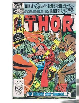 THOR 316   MARVEL Comics      IRON MAN   MAN BEAST