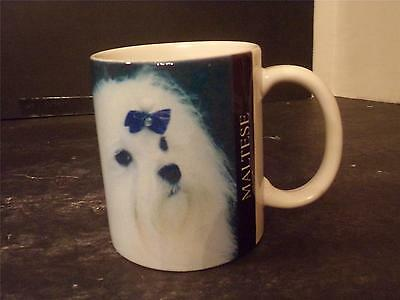 Maltese Dog Coffee Cup W/ Breed Information  (37)