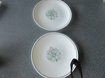 "Susie Cooper ""Bridal Bouquet"" side plates"