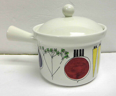 Rorstrand Sweden Picknick No. 10 Sauce Pan w/Lid By Marianne Westman! RARE!