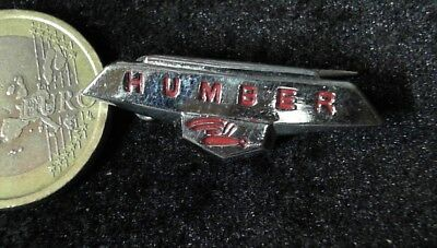 Humber Automobile Brosche Brooch kein Pin Badge alt rare