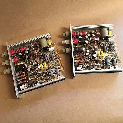 Two ADM 2780 Mic/line Pre-amplifiers and schematics