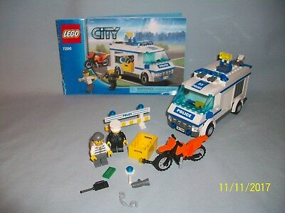 Lego Set 7286 Prisoner Transport City Town W Instructions 100