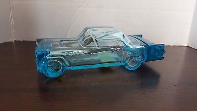Vintage Avon 1955 Blue Ford Thunderbird Seazone After Shave Glass Car Decanter
