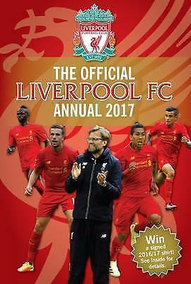 New Official Liverpool Football Annual 2017 Stocking Filler Xmas Gift 99p