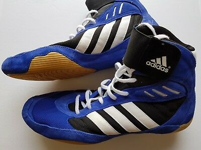 adidas Pretereo Wrestling Shoes | Cobalt Blue | US Size 11 | Rare and Brand New!