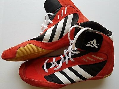 adidas Pretereo Wrestling Shoes | Poppy Red | US Size 11 | Rare and Brand New!