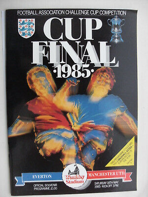 1985 FA Cup Final Manchester United v Everton 18-5-85