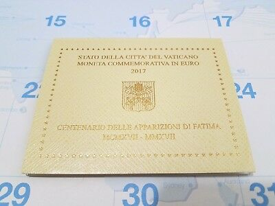 2017 Vatican 2 Euro Coin – Apparitions Of Fatima