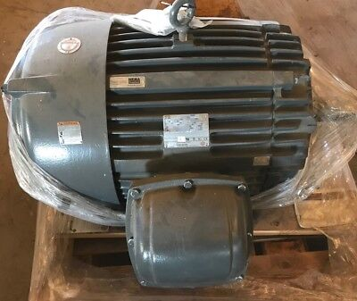 US Motor 60 Hp 404T Frame 1190 Rpm 460v Model Ch74 Enclosed TE
