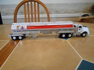 Citgo 1:36 scale preproduction sample gas tanker 1994,plain brown box.MINT!