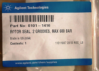 0101-1416 Agilent Rotor seal, 2-position, 6-port injection valve, 600 bar max