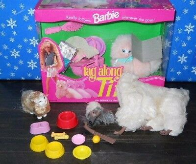 Vintage Doll Lot Barbie Pets Beauty 1979 Tag Along Tiffy Marshmallow Superstar