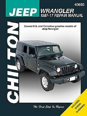 repair manual chilton 40650 fits 87 95 jeep wrangler 36 01 picclick rh picclick com 95 Wrangler Fuel Pump 1995 Jeep Wrangler Specifications