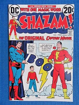 Shazam # 1 - (Nm) - The Original Captain Marvel - Movie (2020) - High Grade