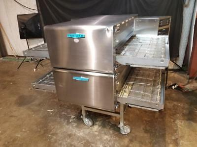 TURBOCHEF hhc2620 DOUBLE STACK CONVEYOR PIZZA OVEN.....VENTLESS.....VIDEO DEMO