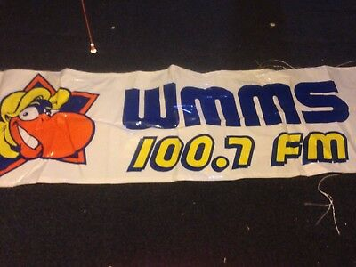 100.7 WMMS Buzzard Banner Full Sized Banner Cleveland CLE 216 C-Town The Land