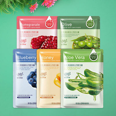 Plants Facial Mask Moisturizing Lasting Hydrating Face Care Skin Beauty Gift