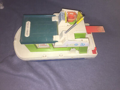 Fisher Price -Hausboot Schiff - Play Family Houseboat 985  Vintage