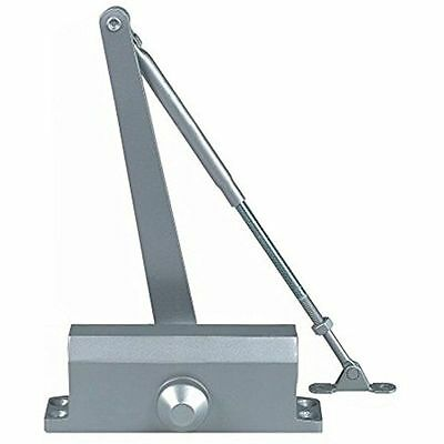 Cal-Royal CRP 420P Commercial Door Closer, Size 2 Spring, Aluminum - New In Box