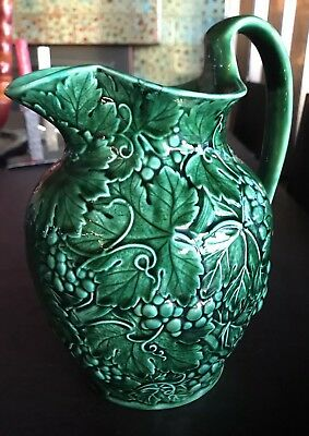 Fine Earlier Mark WEDGWOOD Etruria Grape and Leaves Pitcher