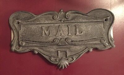 Antique Cast Mail Slot