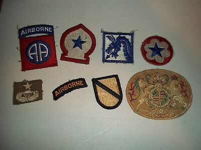 Wwi Wwii Korean War Vietnam Us Army Patch Lot #137