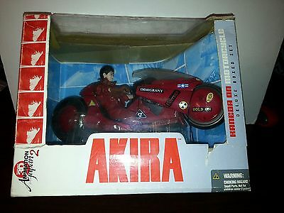 McFarlane Toys Akira Kaneda On Motorcycle Deluxe Box Set Animation