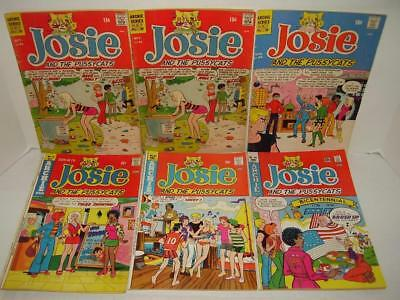 Archie's Josie And The Pussycats - Lot Of Six Comics Between #51 - #89