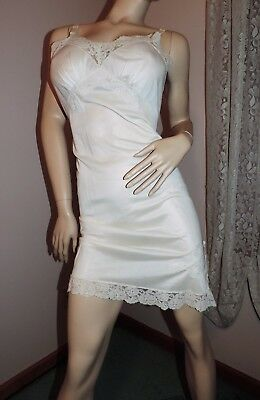 Vintage Full Slip SALE EVERY STYLE EVERY SIZE by Dixie Bell Sz 38