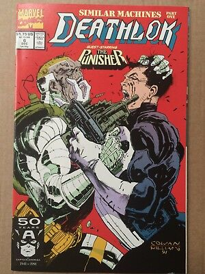 Deathlok #6 & 7 *Similar Machines Pts. 1 & 2* *The Punisher*
