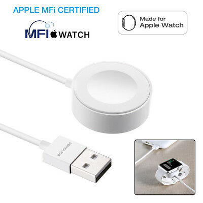 2M For Apple Watch Edition iWatch 38mm & 42mm Magnetic Charger Charging Cable