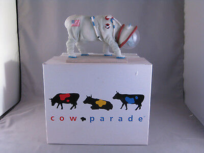 cow parade westland giftware  MIB mooooonwalk  #9120