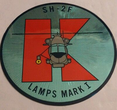 Vintage Kitty Hawk Seasprite Helicopter Decal  Lamps Mark I, super rare