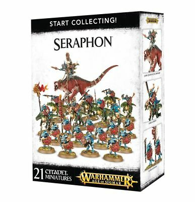 Games Workshop Warhammer Age of Sigmar Start Collecting! Seraphon 70-88