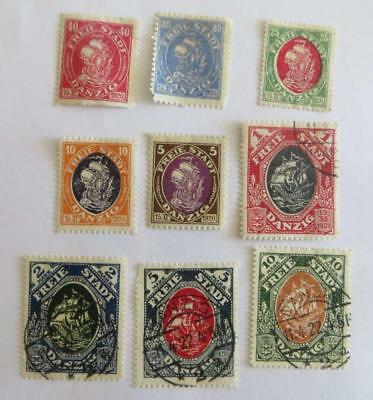 Germany Danzig 1921 small collection ships