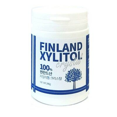 100% Pure Finland Xylitol Crystal Powder Natural Sweetener Sugar Substitute 200g