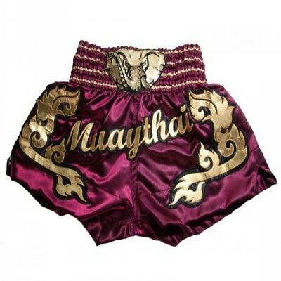 High Quality Satin Muay Thai Shorts - Pink