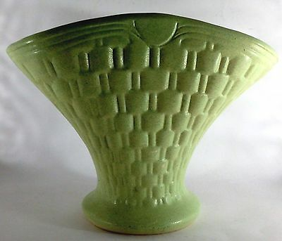Vintage Large Ceramic Flower Basket Vase-1940/50's?