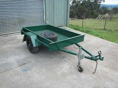 Box trailer light weight 6' x 3'