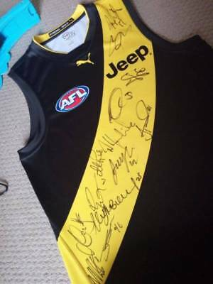 Richmond Signed Guernsey/Jumper/Jersey 2017 Premiers LAY-BY TODAY