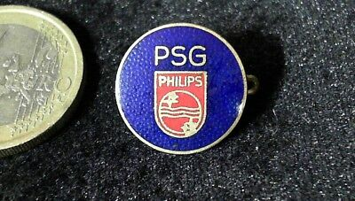 PSG Philips emaille Brosche Brooch kein Pin Badge alt rare