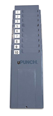 uPunch HNTCR10 Time Card Rack 10 Slots .
