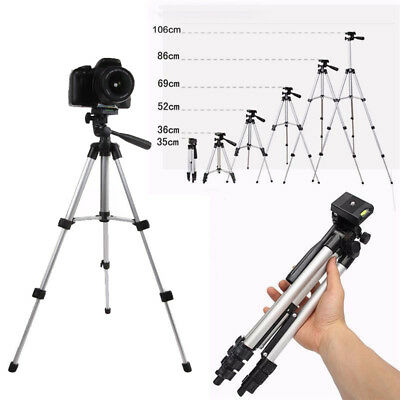 Professional Camera Tripod Stand Holder Mount for iPhone Samsung Cell Phone 360°