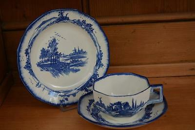 """Royal Doulton """"Norfolk"""" Trio (cup, saucer, plate)"""