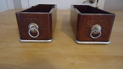 2 antique Sewing machine drawers  1800s