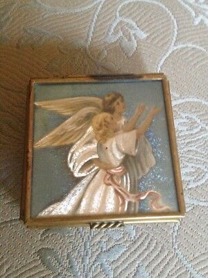 Brass Box  With Angels By Thomas Cathy
