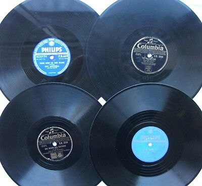 Records 78Rpm (Four Records) 3, Guy Mitchell / 1, Beverley Sisters