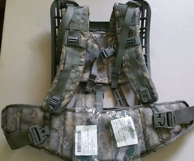 ACU Digital Camo USGI Molle II NEW Frame, GC Belt & Shoulder Straps