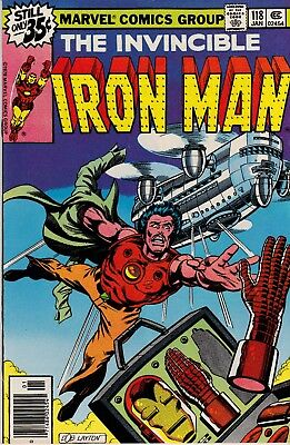 Iron Man #118 (Jan 1979, Marvel) 1st James Rhodes